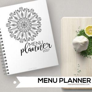 2017 Menu Planner