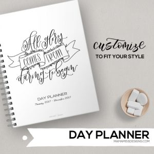 2017 Day Planner