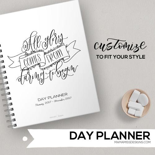 2017 Day Planner