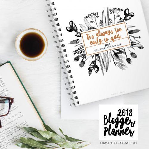 2018 Blogger Calendar