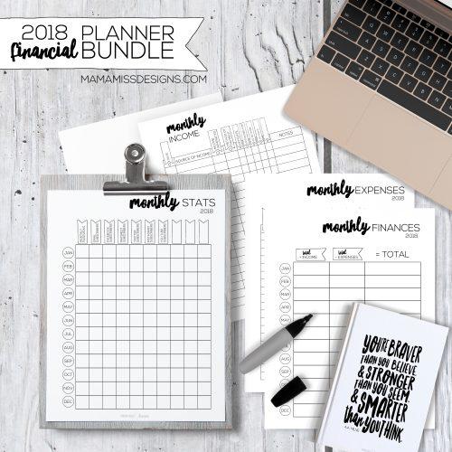 2018 Financial Planner Bundle