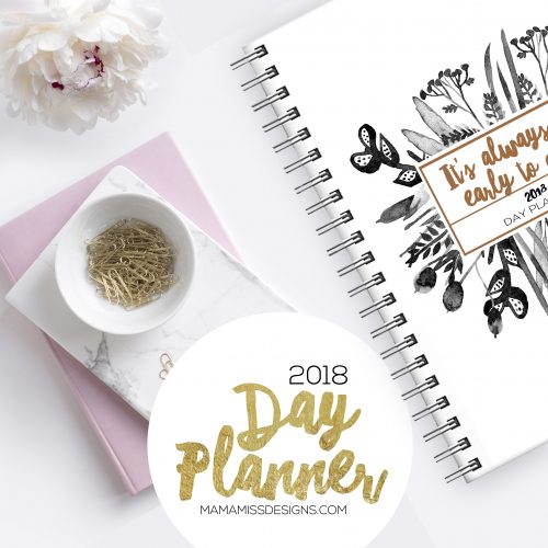 2018 Day Planner