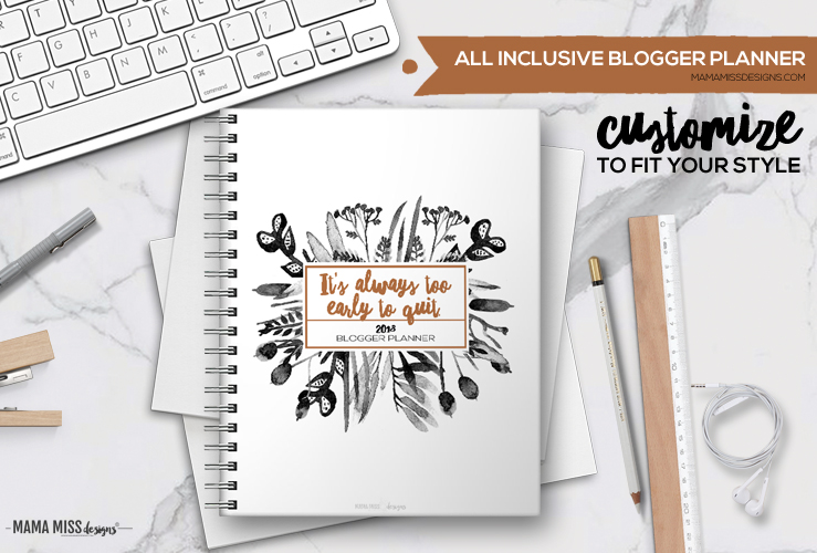The Stage is Set – All New 2018 Planners