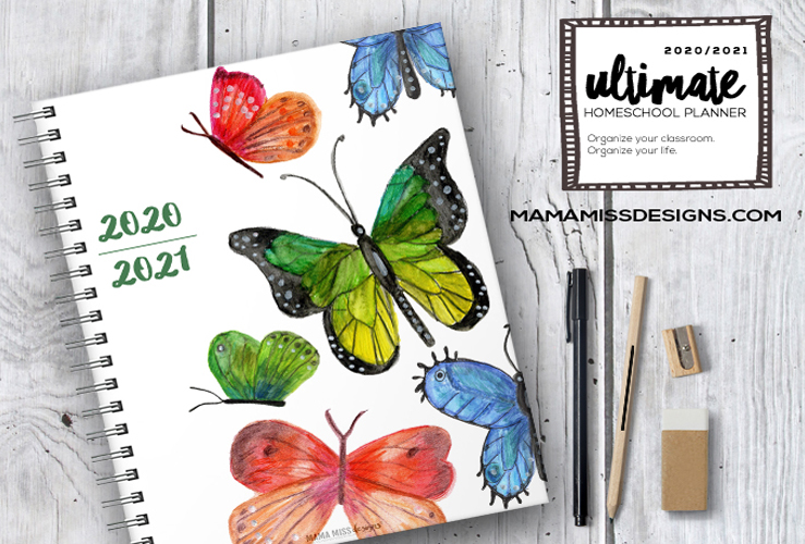 2020/2021 Homeschool Planner.